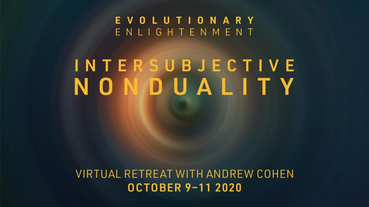 Intersubjective Nonduality